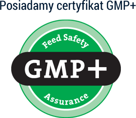 Posiadamy certyfikat GMP+