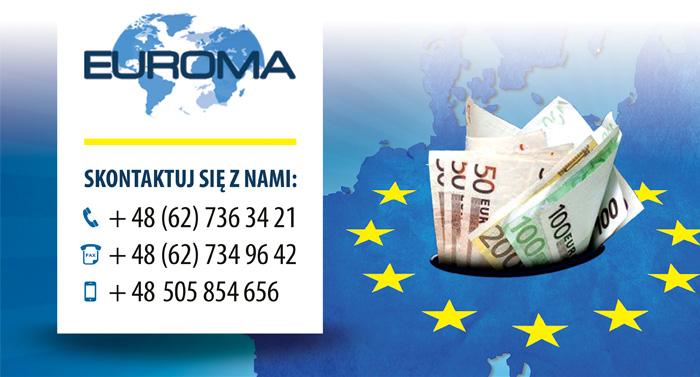 EUROMA - telefony kontaktowe
